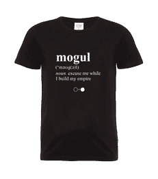 Mogul Dictionary T-shirt