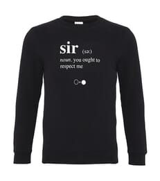 Sir Dictionary Sweatshirt