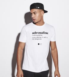 Adrenaline Dictionary T-shirt