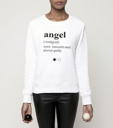 Angel Dictionary Sweatshirt