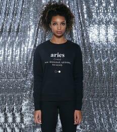 Aries Dictionary Sweatshirt (womens)