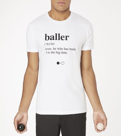 Baller Dictionary T-shirt