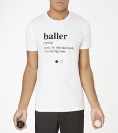 Baller Dictionary T-shirt