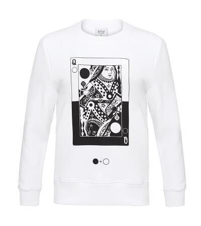 Queen of Circles Card Sweatshirt