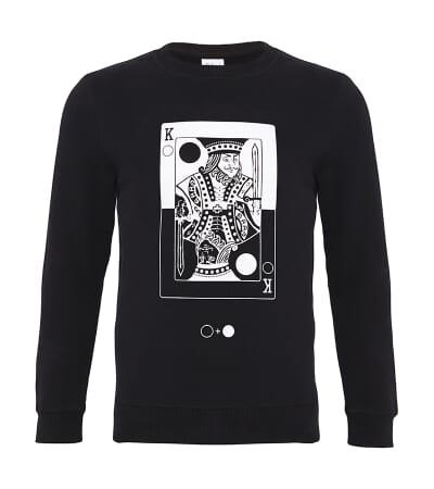 King of Circles Card Sweatshirt