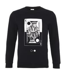 King of Circles Card Sweatshirt