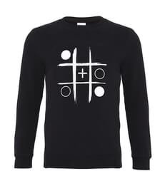 Noughts and Plusses Sweatshirt