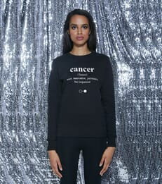 Cancer Dictionary Sweatshirt (womens)