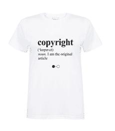 Copyright Dictionary T-shirt