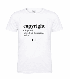 Copyright Dictionary T-shirt