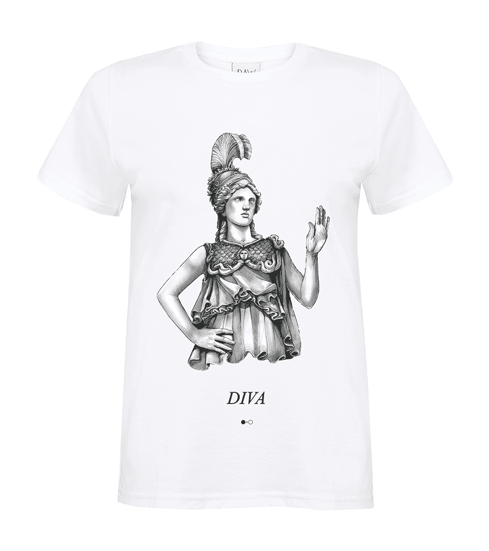 Diva / Athena - Greek Gods T-shirt