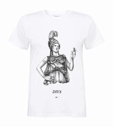 Diva / Athena - Greek Gods T-shirt