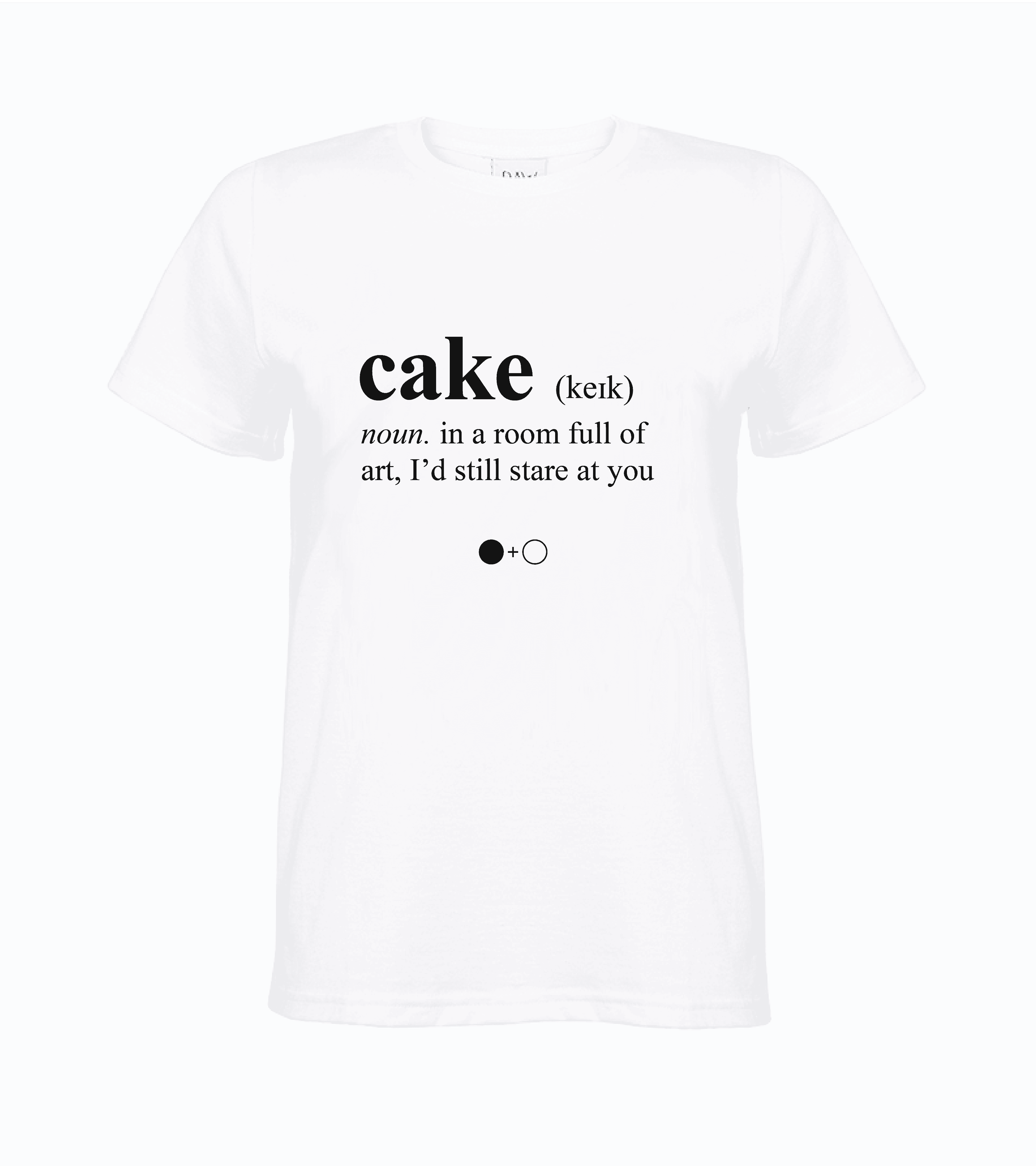 Cake Dictionary T-shirt