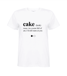 Cake Dictionary T-shirt
