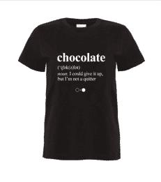 Chocolate Dictionary T-shirt