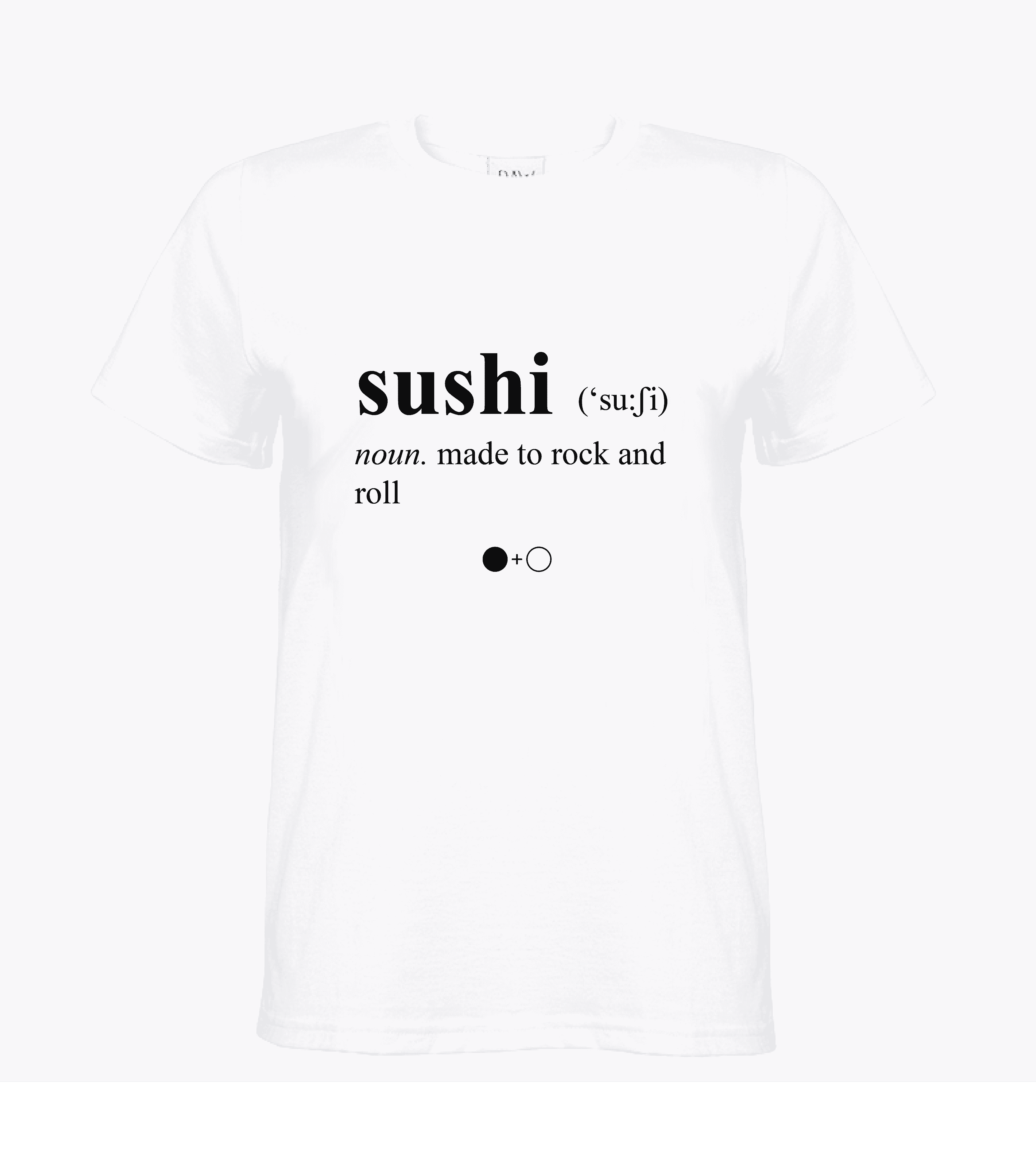 Sushi Dictionary T-shirt