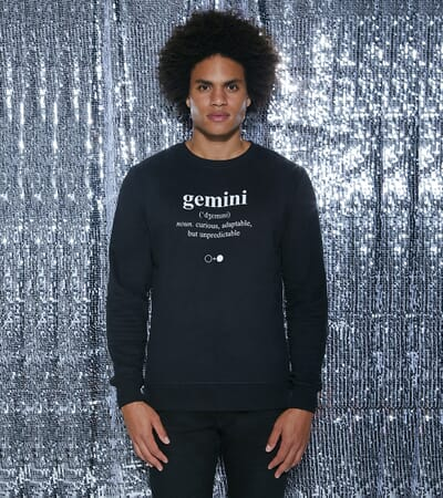 Gemini Dictionary Sweatshirt (mens)