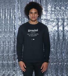 Gemini Dictionary Sweatshirt (mens)
