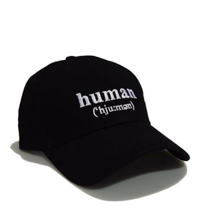 Human Baseball Cap