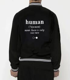 Human Varsity Jacket