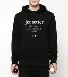 Jet setter Hoodie