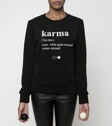 Karma Dictionary Sweatshirt