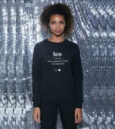 Leo Dictionary Sweatshirt (womens)