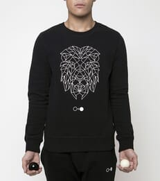 Origami Lion Sweatshirt