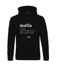 Mafia Dictionary Hoodie