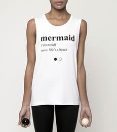 Mermaid Dictionary Tank