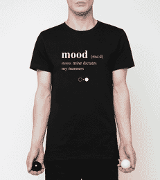 Mood Dictionary T-shirt