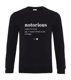 Notorious Dictionary Sweatshirt
