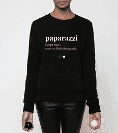 Paparazzi Dictionary Sweatshirt