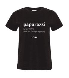 Paparazzi Dictionary T-shirt