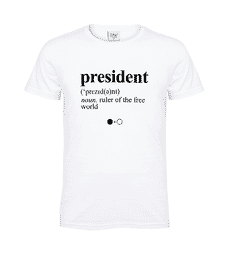 President Dictionary T-shirt