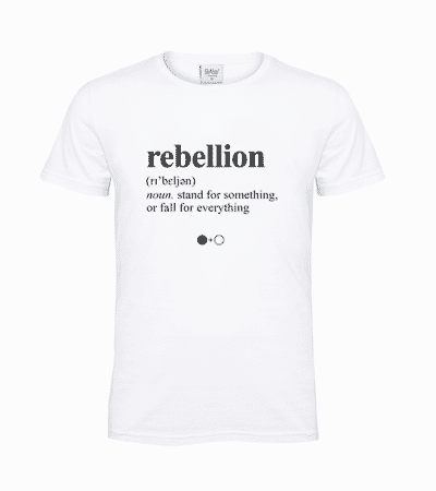 Rebellion Dictionary T-shirt