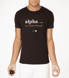 Alpha Dictionary T-shirt