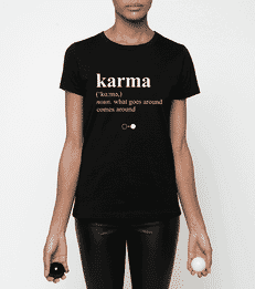 Karma Dictionary T-shirt