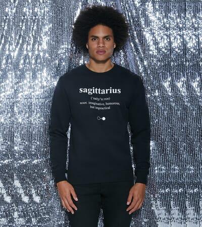 Sagittarius Dictionary Sweatshirt (mens)