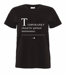 Temporarily Closed Story T-shirt
