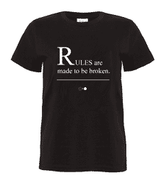 Rules Story T-shirt