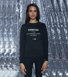 Taurus Dictionary Sweatshirt (womens)