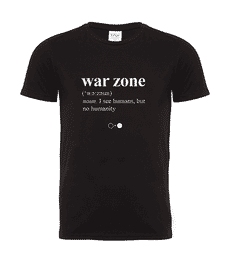 War zone Dictionary T-shirt