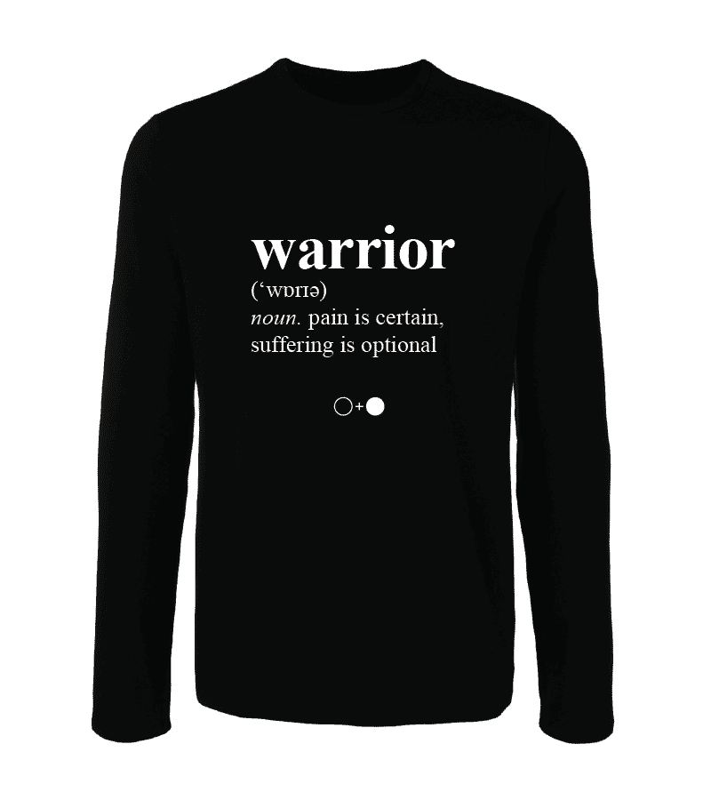 Warrior Dictionary Long Sleeve T-shirt