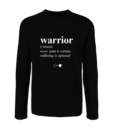 Warrior Dictionary Long Sleeve T-shirt