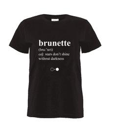 Brunette Dictionary T-shirt