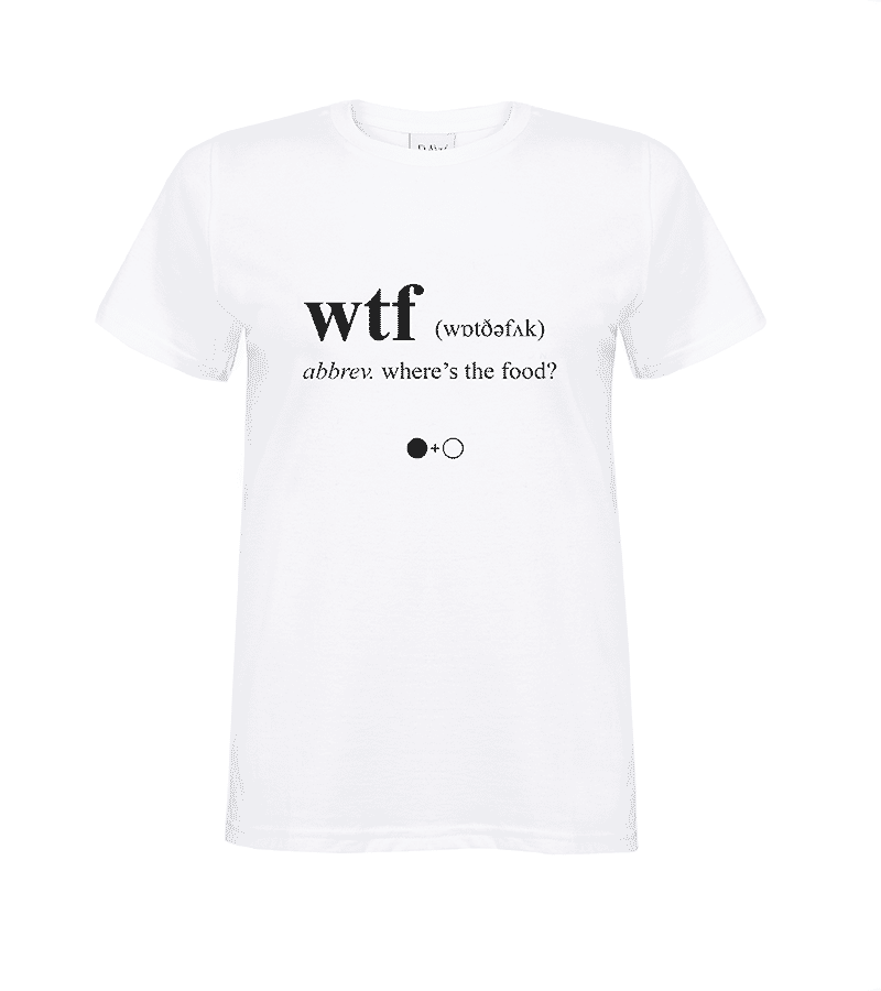 WTF Dictionary T-shirt