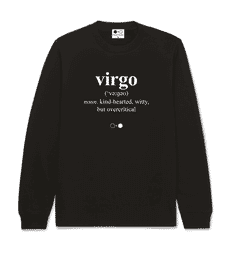 Virgo Dictionary Sweatshirt (mens)