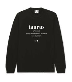 Taurus Dictionary Sweatshirt (mens)