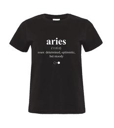 Aries Dictionary T-shirt (womens)
